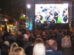 Nelson, Public Viewing Rugby Final 2011
