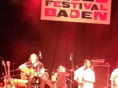 Blues Festival Baden 2012 mit Hans Theessink
