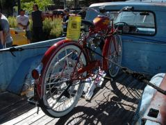 Oldtimer Töffli in South Lake Tahoe