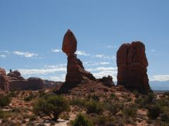Der «Balanced Rock» im Arches N.P.