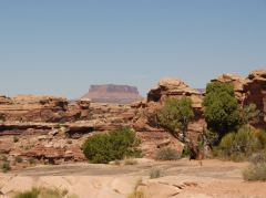 Am Ende des Highway 211 im Canyonlands Nationalpark