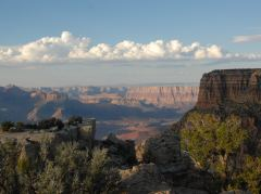 Aussicht vom Moran Point, Grand Canyon South Rim