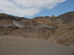 Am Artist Drive im Death Valley