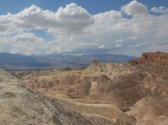 Aussicht auf das Death Valley am Zabriskie Point