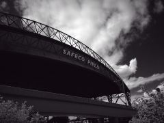Safeco Field, das Stadion der Mariners, Perfect B & W