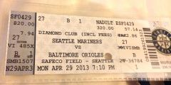 Eintrittsticket Safeco Field