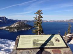 Blick vom Discovery Point auf den Crater Lake