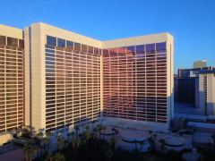 Das Flamingo in Las Vegas in der Morgensonne