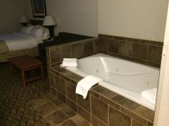 Hotelzimmer im Holiday Inn in West Yellowstone mit einen Spa