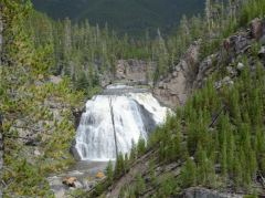 Gibbon Falls im Yellowstone