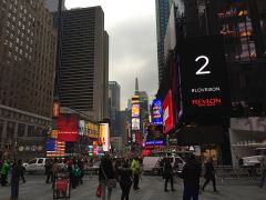 am Timesquare in New York