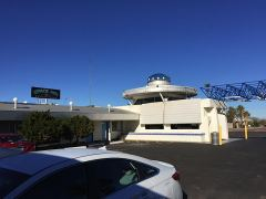 Best Western Space Age Lodge in Gila Bend im Morgenlicht