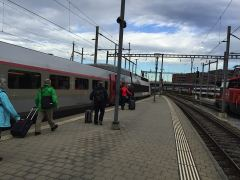 TGV Lyria in Basel SBB