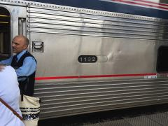 Superliner Wagen 1132 des «Coast Starlight»