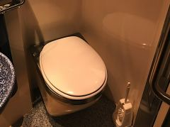 Toilette im Single-Abteil Grand Class