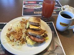 Ein «Moons Over My Hammy» bei Denny's