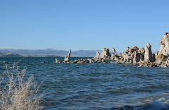 Tuffsteine am Südufer des Mono Lake