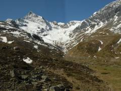 Unterwegs im Bernina-Express, Piz Bernina
