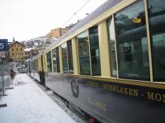 Erstklass-Wagen Golden Pass