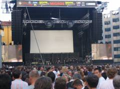 Konzertbühne, Moon and Stars 2006 in Locarno