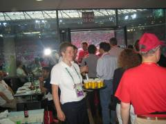 Hospitality-Bereich Hannover an der WM 2006